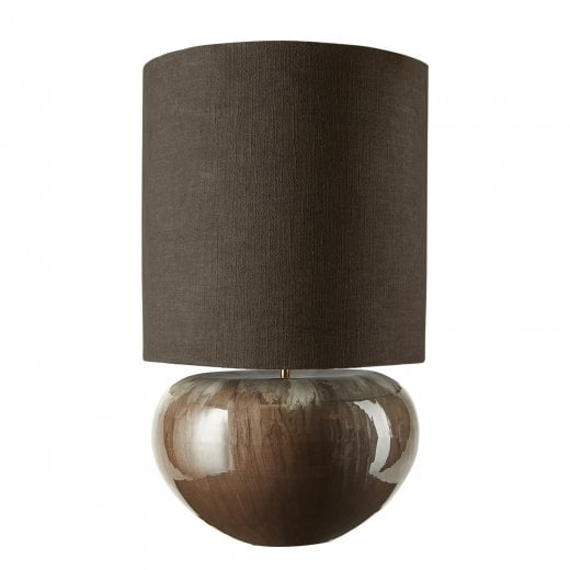 Cozy Living Ena Lamp Base and Shade - Taupe