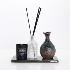 Cozy Living Fresh Water Candle and Diffuser Gift Set