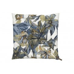 Cozy Living Lily Seat Pad Dusty Blue 40 x40cm
