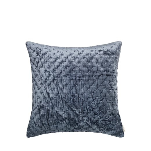 Cozy Living Luxury Embroidered Velvet Cushion