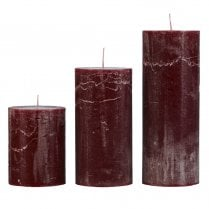 Cozy Living Rustic Bordeaux Candle