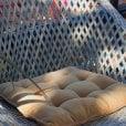 Cozy Living Velvet Seat Pad - Mustard