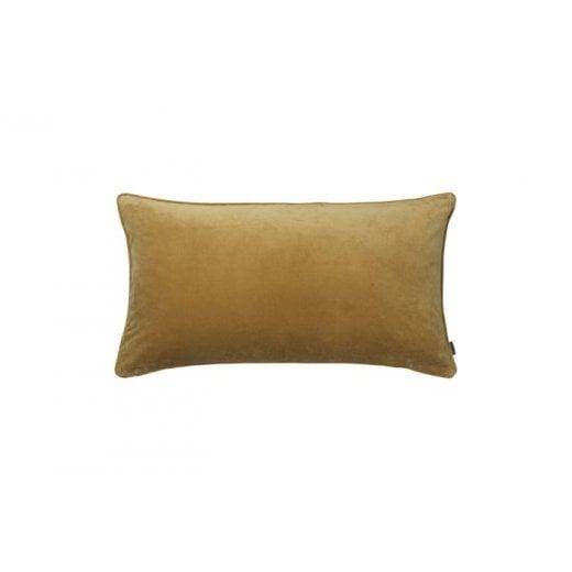 Cozy Living Velvet Soft Gable Cushion - Dijon