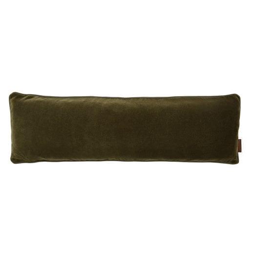 Cozy Living Velvet Soft-Long Cushion - Army