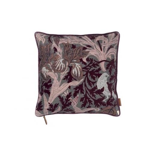 Cozy Living Vlevet Art Deco Print Cushion