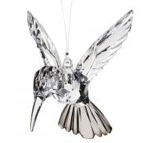 Danish Collection Acrylic Humming Bird - Clear