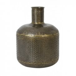 Danish Collection AMBANJA Vase - Antique Bronze