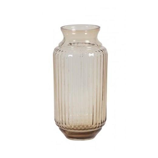Danish Collection Amber Glass Vase