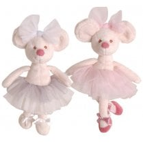 Danish Collection Antonia Pink Dancing Mouse
