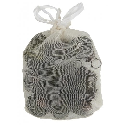 Danish Collection Bag of Mini Christmas Bauble Ornaments - Olive