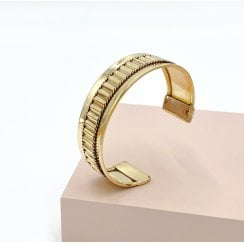 Danish Collection Bangle Wide - Gold