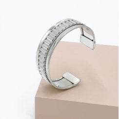 Danish Collection Bangle Wide - Silver