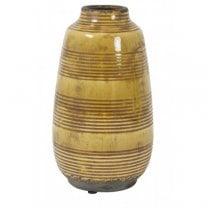 Danish Collection BATUR Decorative Vase - Ocher