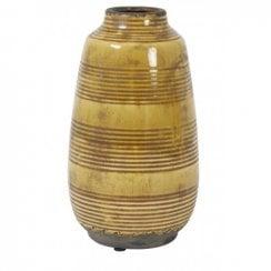 Danish Collection BATUR Decorative Vase - Ocher