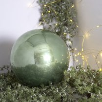 Danish Collection Bauble Shatterproof- Sage Green D20cm