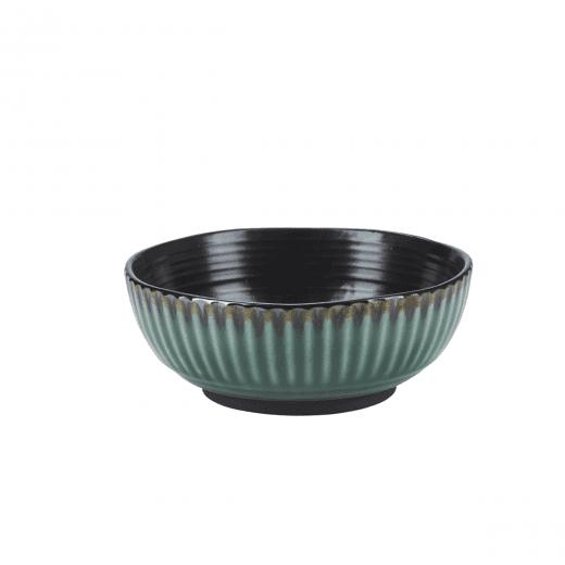 Danish Collection Birch Stoneware Bowl - Green