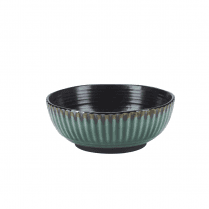 Danish Collection Birch Stoneware Bowl - Green