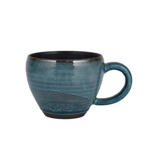Danish Collection Birch Stoneware Cup - Navy Blue