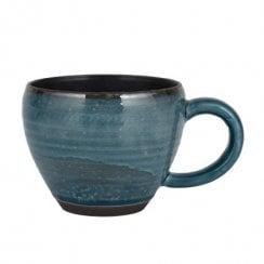 Danish Collection Birch Stoneware Cup - Navy Blue
