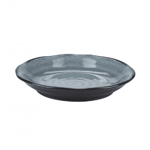 Danish Collection Birch Stoneware Dessert Plate - Dark Grey