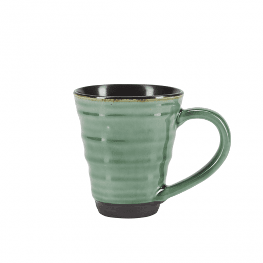 Danish Collection Birch Stoneware Mug - Green