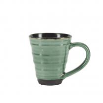 Danish Collection Birch Stoneware Mug - Green