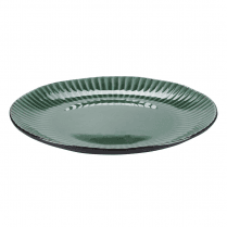 Danish Collection Birch Stoneware Plate - Green