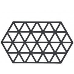 Danish Collection Black Triangles Trivet
