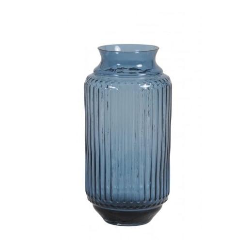 Danish Collection Blue Glass Vase