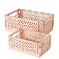 Danish Collection Box Malmo Light Pink - Two Sizes