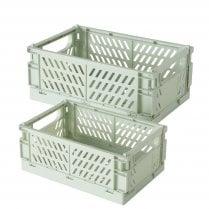 Danish Collection Box Malmo Sage - Two Sizes