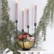 Danish Collection Candle Holder Centrepiece - H33cm