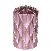 Danish Collection Candle With Gold Glitter - H12cm