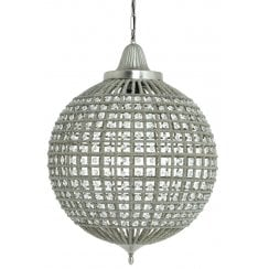 Danish Collection CHEYENNE Hanging Lamp - Silver