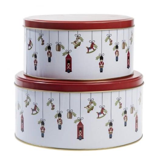 Christmas Tins.Danish Collection Christmas Soldier Christmas Tins