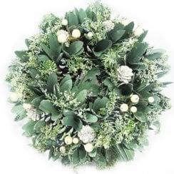 Danish Collection Christmas Wreath - 27 cm