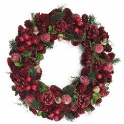 Danish Collection Christmas Wreath - 34 cm