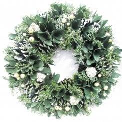 Danish Collection Christmas Wreath - 36 cm