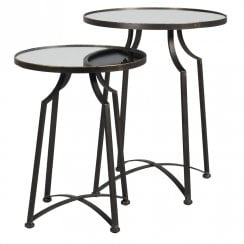 Danish Collection Coffee Side Tables Set/2