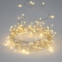 Danish Collection Crystal Cluster - 100 Battery Operated LED Lights