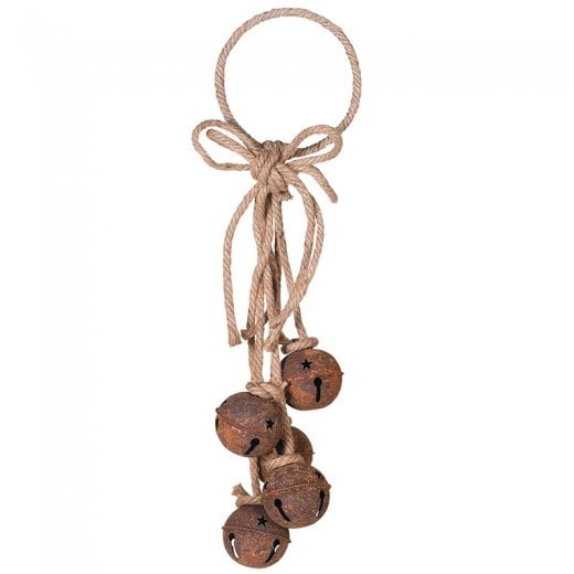 Danish Collection Decorative Rustic Hanging Bells