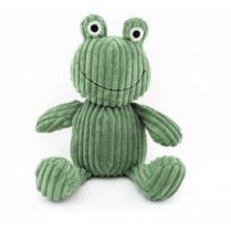 Danish Collection Doorstop Frog - Grass Green Cordoroy