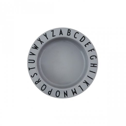 Danish Collection Eat and Learn Deep Plate Grey