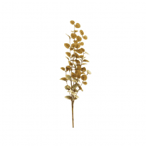 Danish Collection Eucalyptus Branch  - Gold L88cm