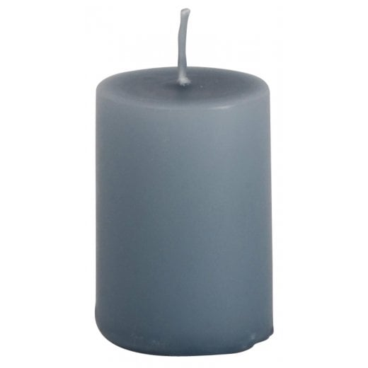 Danish Collection Extra Small Plain Candle - Pigeon Blue