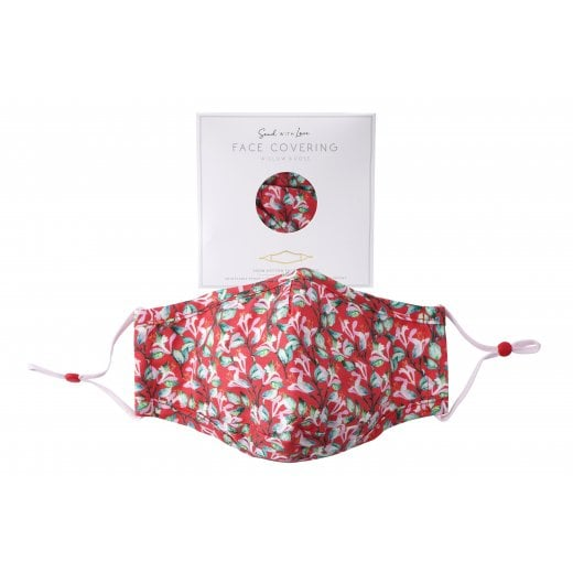 Danish Collection Face Mask - Red