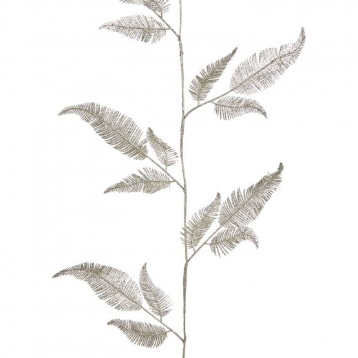 Danish Collection Feather Leaf Garland - Champagne