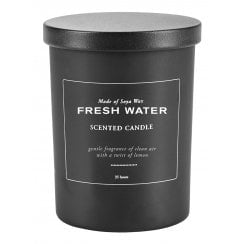 "Danish Collection ""Fresh Water"" Scented Candle"