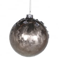 Danish Collection Frost Mocha Bauble