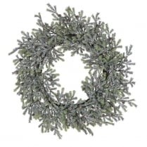 Danish Collection Frozen Pine Wreath